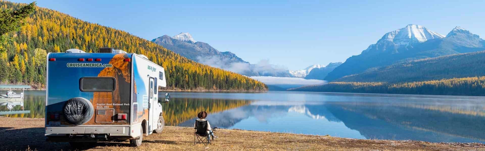 Maak een camperreis door Amerika met een wegbreng camper van Cruise America
