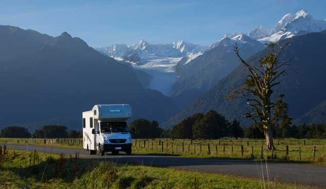 Op camperreis door Nieuw-Zeeland in de Cheapa Campa 4 Berth camper