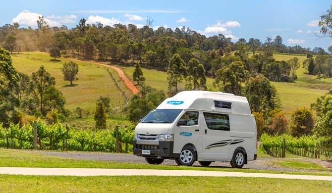 Op camperreis door Nieuw-Zeeland in de Cheapa Campa Endeavour camper
