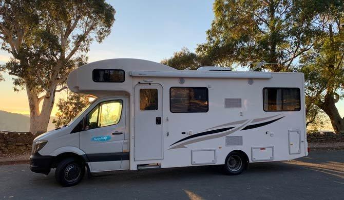 Op camperreis door Australië in de Cheapa Campa 4Berth