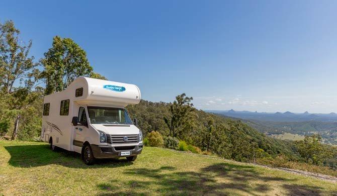 Op camperreis door Australië in de Cheapa Campa 6Berth camper