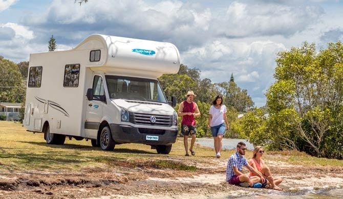 Met de Cheapa Campa 6Berth camper op reis door Australië