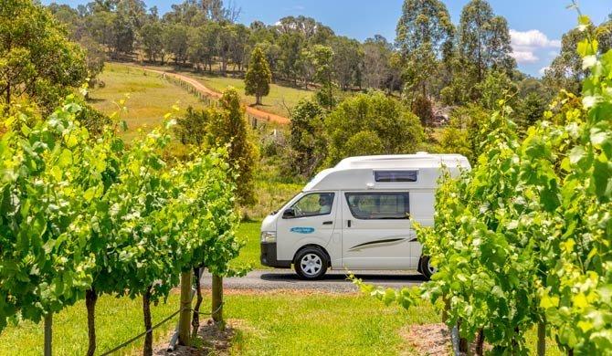 Met de Cheapa Campa Endeavour camper op reis door Australië