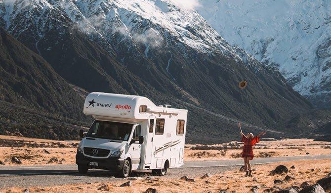 Op camperreis door Nieuw-Zeeland in de Star RV Hercules camper