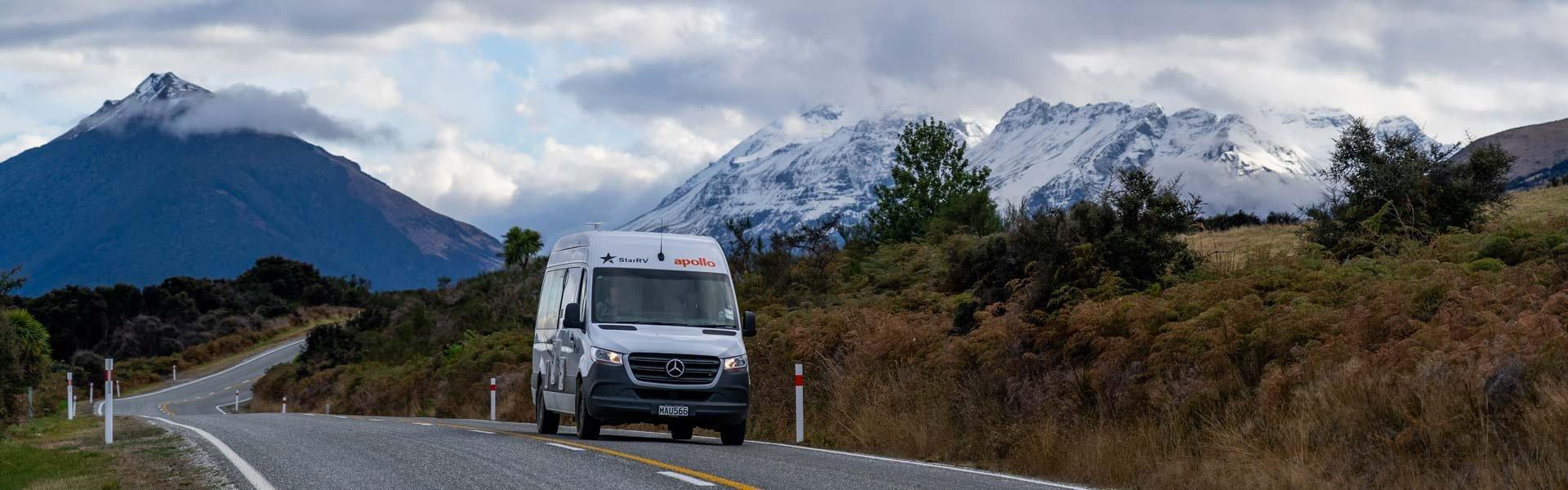 Op camperreis door NIeuw Zeeland in een camper van Star RV