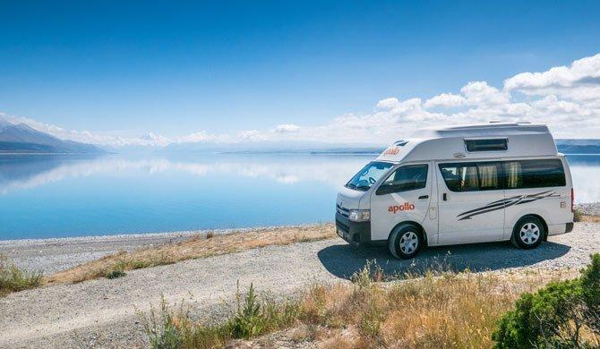 Op camperreis door Nieuw-Zeeland in de Apollo Hitop camper