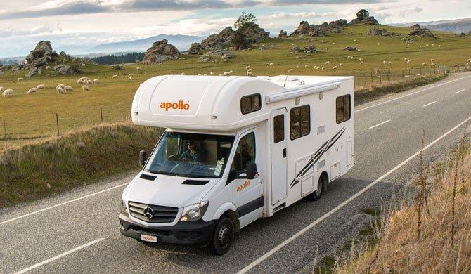 Op camperreis door Nieuw-Zeeland in de Apollo Euro Deluxe camper