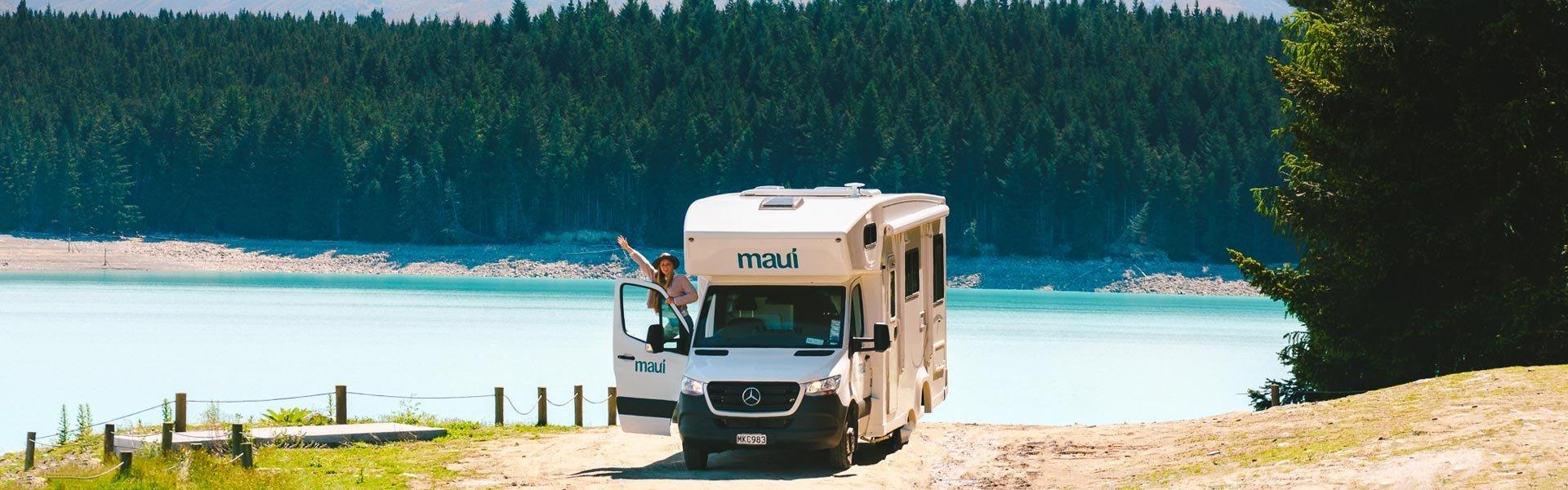 Maak een camperreis door Nieuw Zeeland met Maui