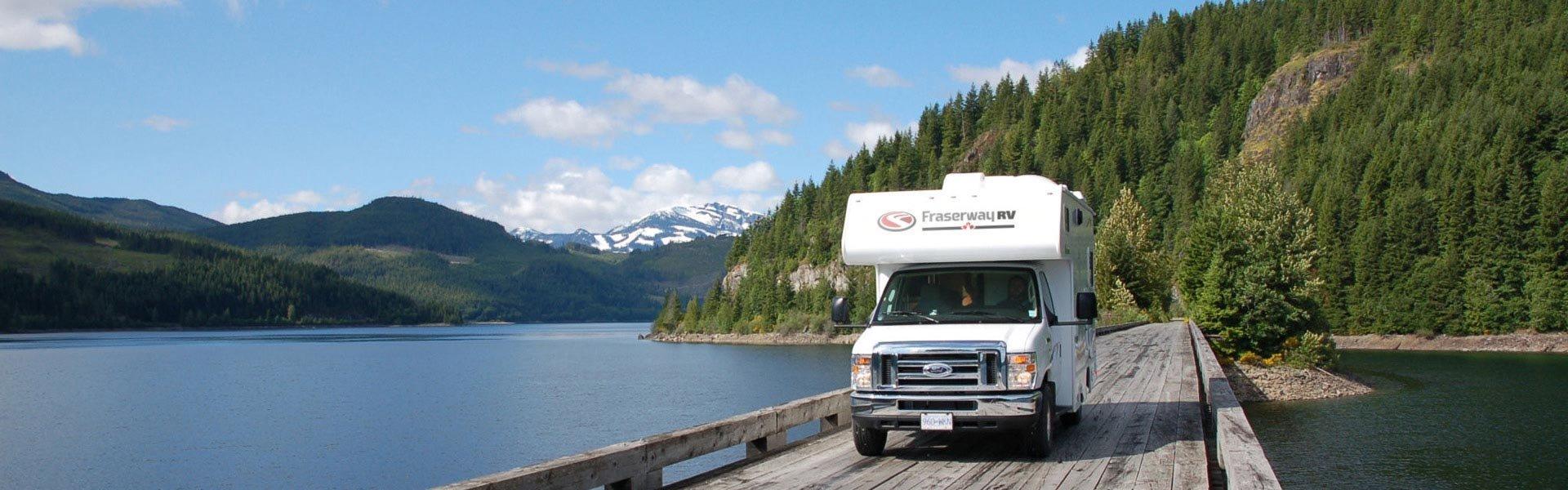 Maak een unieke camperreis met een camper van Fraserway