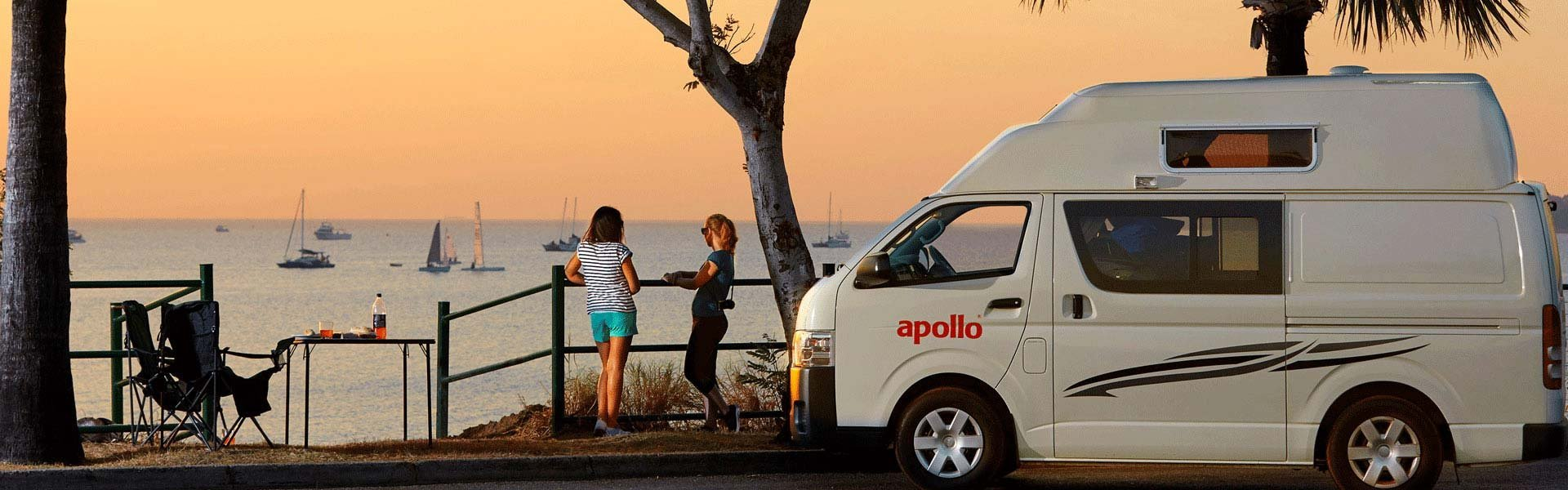 Apollo Australië zonsondergang