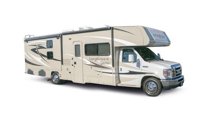 Huur de ruime Mighty MS31 camper en ga op reis door Amerika