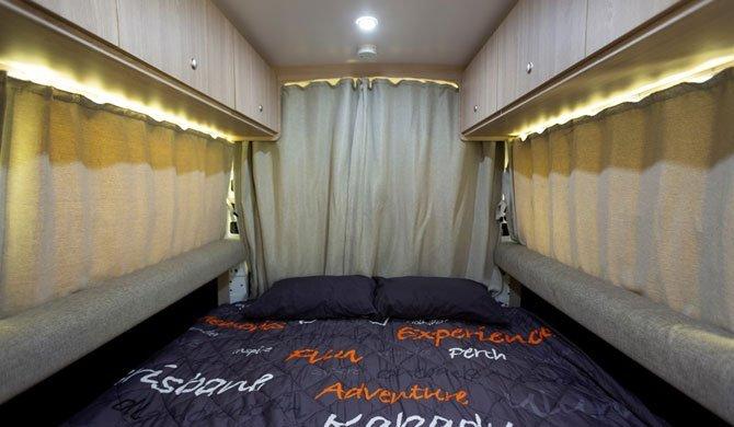 Interieur van de Star RV Aquila camper