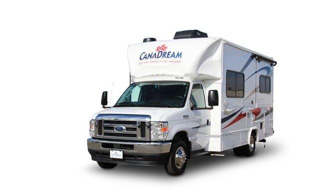 Huur de CanaDream SVC camper en ga op reis door Canada