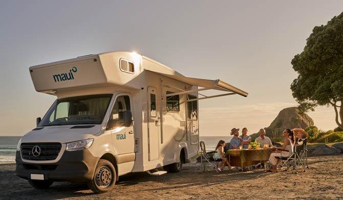 Ga op camperreis door Australië in de Maui River camper
