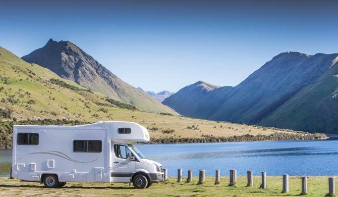 Ga op camperreis door Nieuw-Zeeland in de Mighty Big Six camper