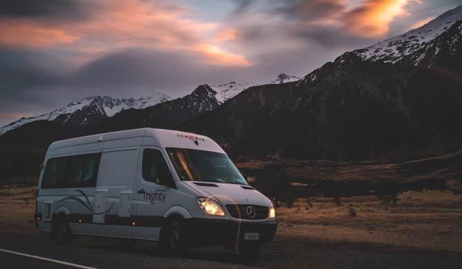 Op camperreis door Nieuw-Zeeland in de Mighty Deuce Plus camper