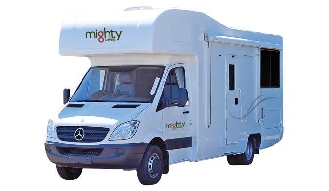 Ga op camperreis door Nieuw-Zeeland in de Mighty Double Up camper