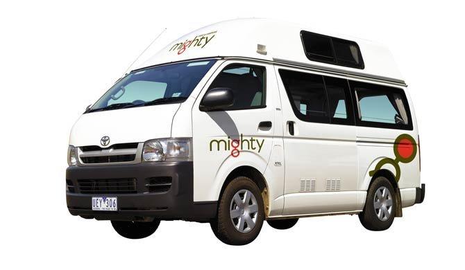 Ga op camperreis door Australië in de Mighty Highball camper