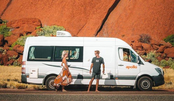 Ga op camperreis door Australië in de Apollo Euro Tourer camper