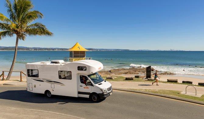 Ga op camperreis door Australië in de Apollo Euro Deluxe camper