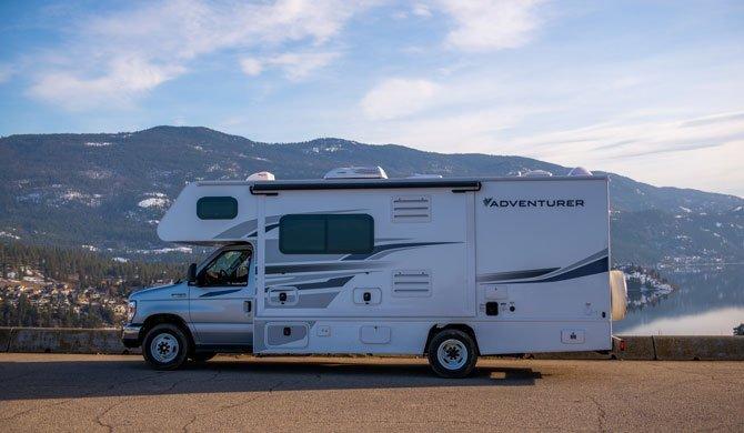 Ga op camperreis door Canada in de Fraserway C-Large camper
