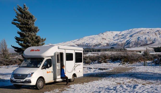 Ga op camperreis door Nieuw-Zeeland en huur de Britz Discovery camper