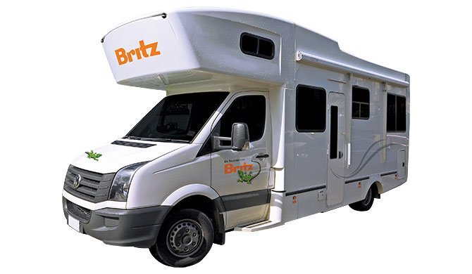 Ga op camperreis door Nieuw-Zeeland in de Britz Frontier camper