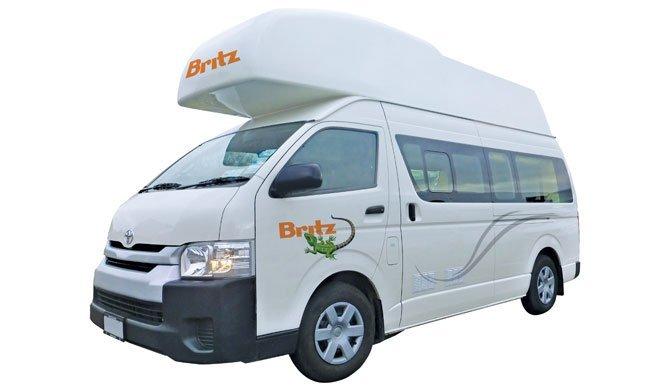 Ga op camperreis door Nieuw-Zeeland in de Britz HiTop camper