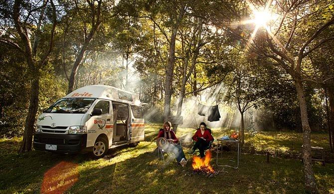 Ga op camperreis door Australië in de Britz HiTop camper