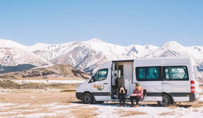 Ga op camperreis door Nieuw-Zeeland in de Britz Venturer camper