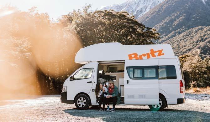 Ga op camperreis door Nieuw-Zeeland in de Britz Voyager camper