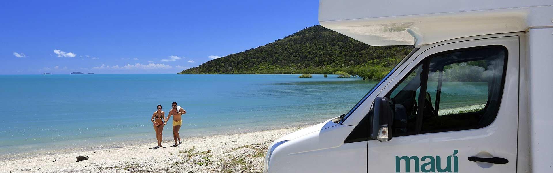 Ontdek Australië tijdens een camperreis met een camper van Maui