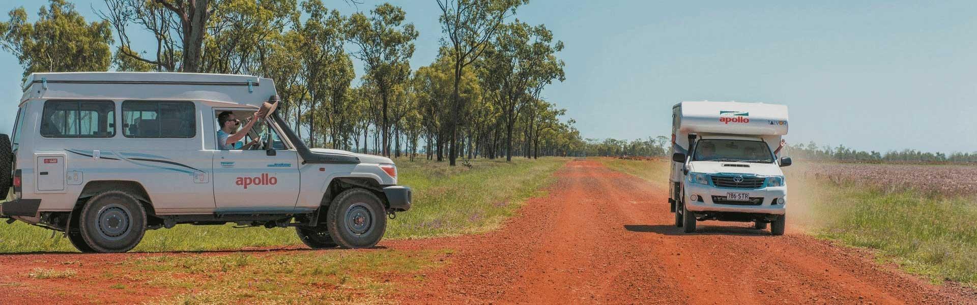 Maak een onvoorgetelijke camperreis door Australië met een camper van Apollo