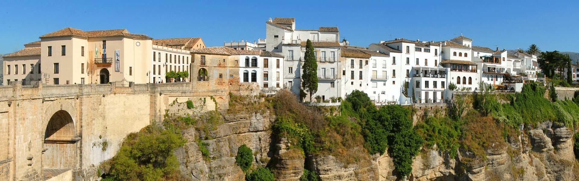 Bezoek het stadje Ronda tijdens een campervakantie in Spanje met Victoria CamperHolidays
