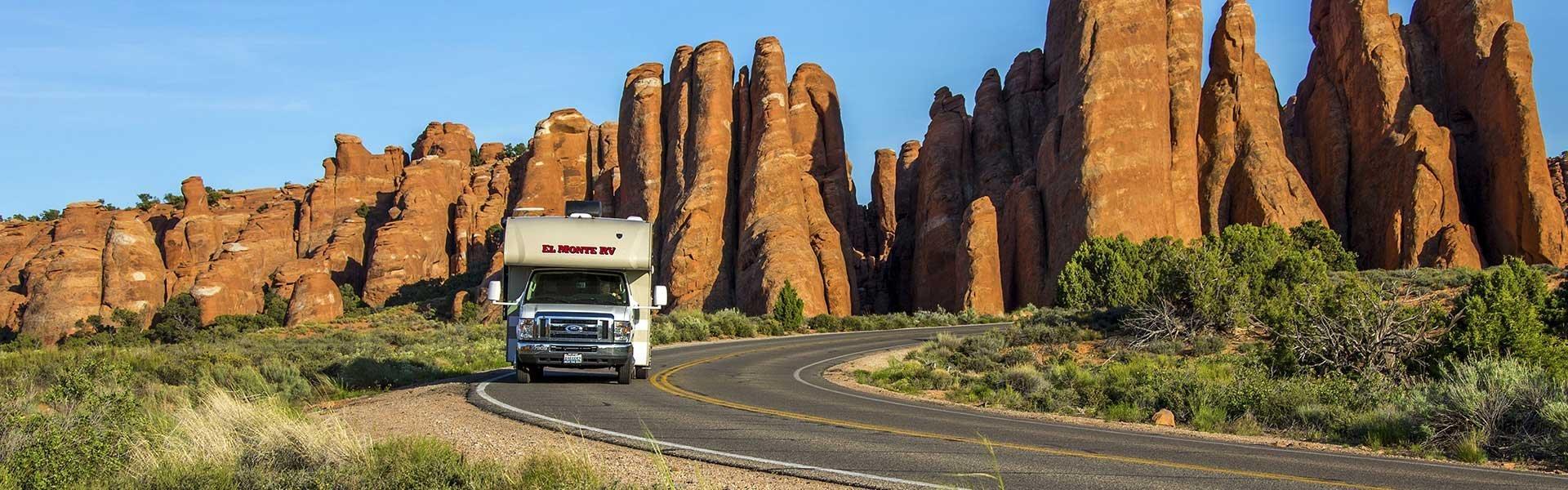 Bezoek Arches National Park tijdens een camperreis door Amerika met El Monte