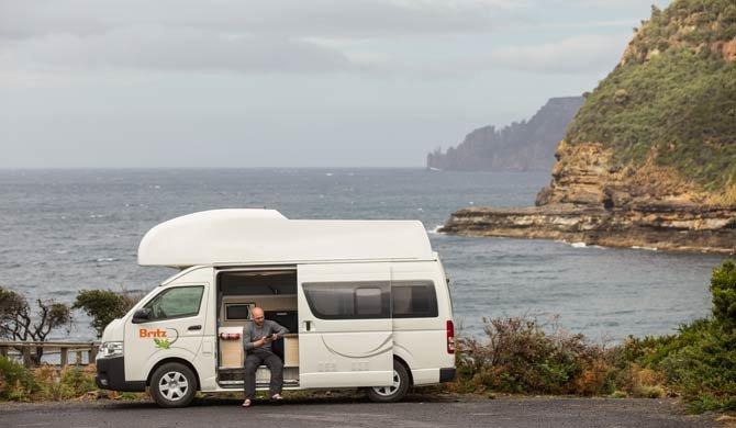 Ga op camperreis door Australië en huur de Britz Voyager camper