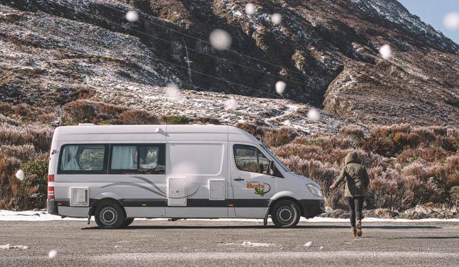Ga op camperreis door Nieuw-Zeeland in de Britz Venturer Plus camper
