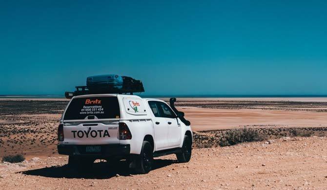 Ga op camperreis door Australië in de Britz Outback camper