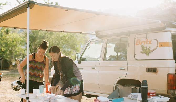 De Britz Safari Landcruiser camper