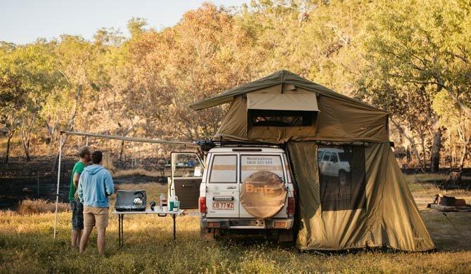 Ga op camperreis door Australië in de Britz Safari Landcruiser
