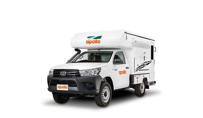 Ga op camperreis door Australië in de Apollo Adventure camper
