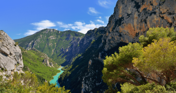 Ontdek de prachtige natuur van Les Gorges du Verdon tijdens een camperreis door Frankrijk