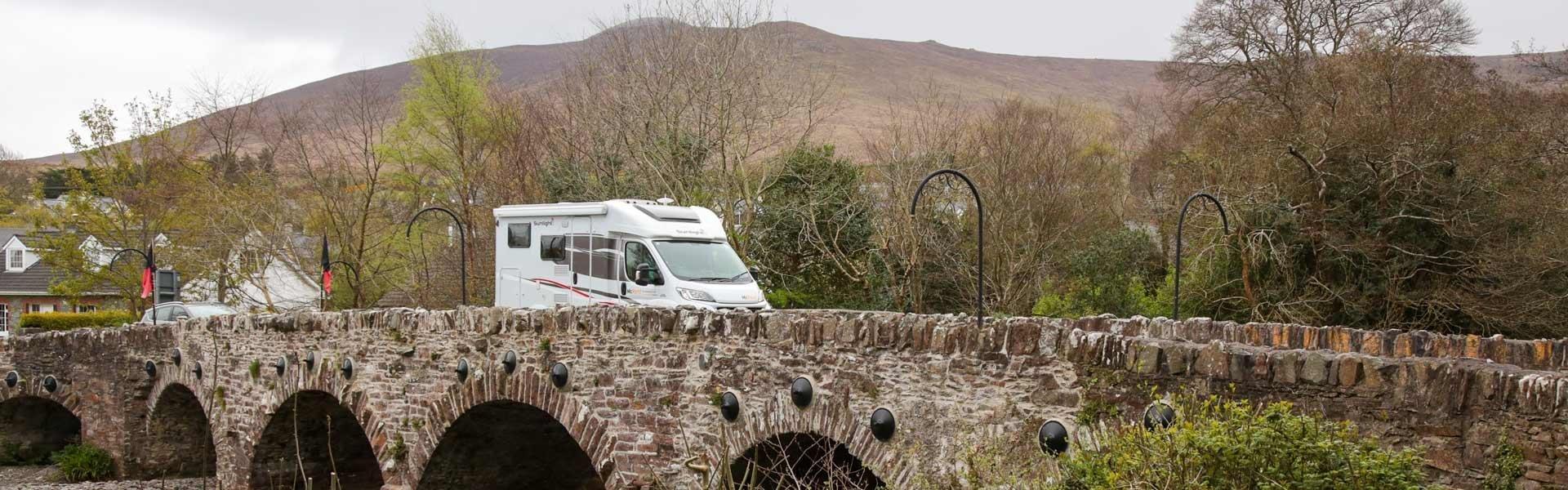 Ga op camperreis door Ierland met een camper van McRent