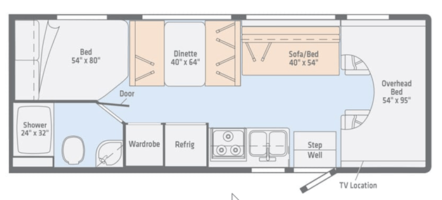 Apollo Pioneer Floorplan