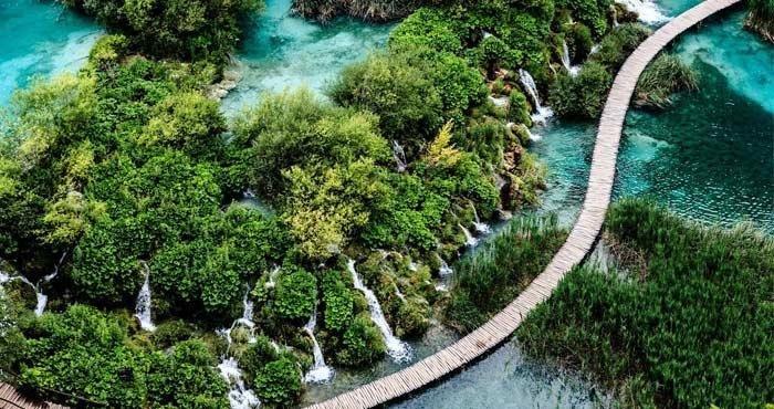 Bezoek Nationaal Park Plitvice tijdens een camperreis door Kroatië met Victoria CamperHolidays