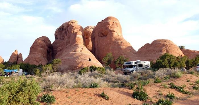 Campervakantie door Amerika in een camper van Road Bear