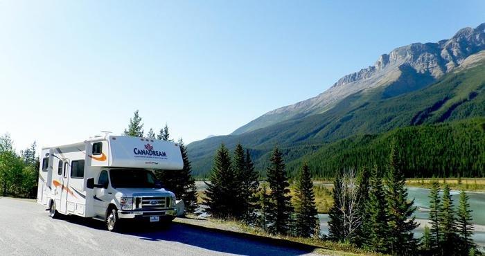 Nieuwe wegbrengcampers Canada