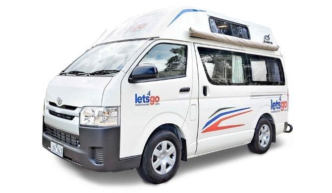 De Lets Go 3 Berth HiTop camper