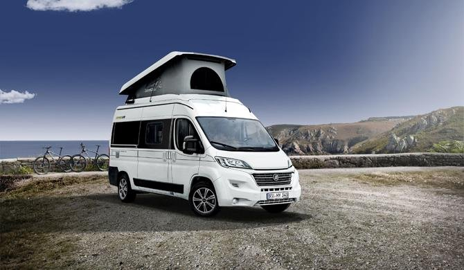 Ga op camperreis door Europa in de Rent Easy City First camper