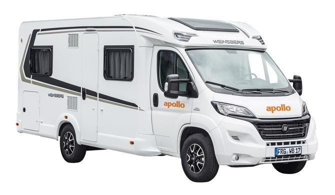 Op camperreis in de Apollo Family Traveller Plus camper